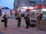 Музыканты играют на улицах Красноярска